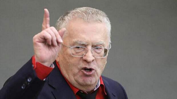 Жириновский объяснил, кому выгоден конфликт в Донбассе