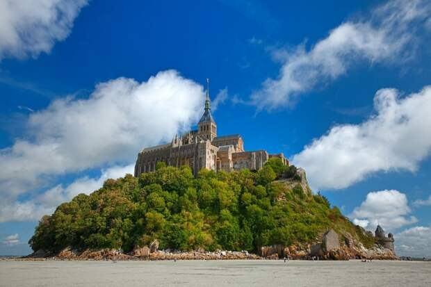 Остров Мон-Сен-Мишель, Франция