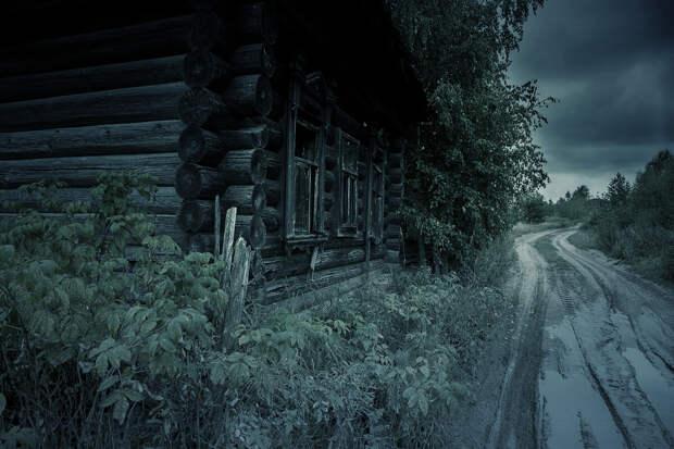 Ужасы и тайны заброшенной деревни.