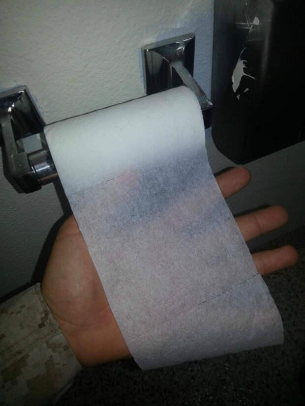 Антикризисная туалетная бумага.