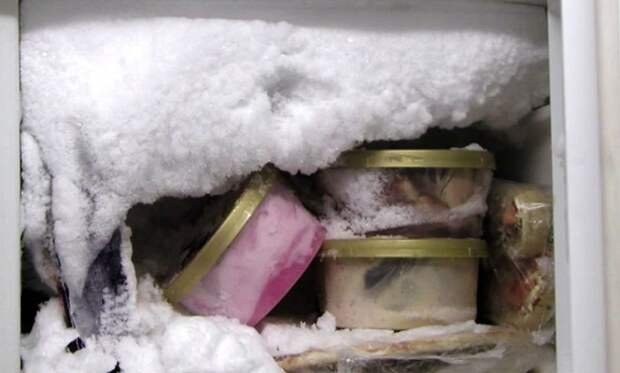 Морозильную камеру нужно размораживать раз в 2 месяца. / Фото: homius.ru