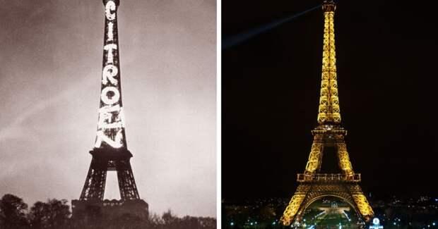 Тогда исейчас: эти фото знаменитых достопримечательностей удивят многих