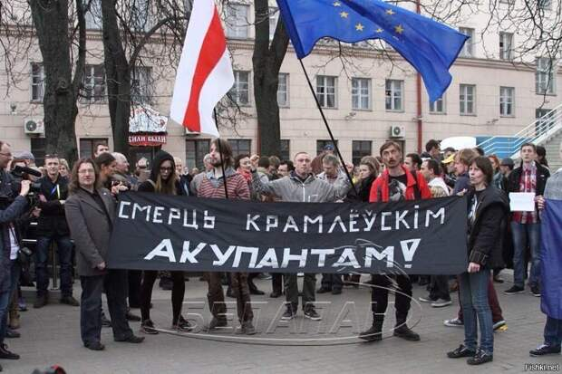 Глава МИД Белоруссии Макей выступил в защиту БЧБ флага