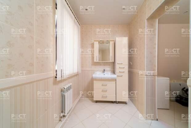 3-к квартира в центре Сочи с парковкой и качественным ремонтом
