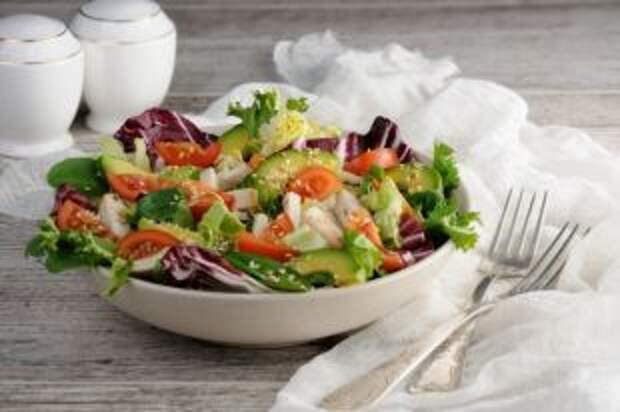 Ужин для Великого поста. Рецепты теплых салатов из овощей, круп и орехов