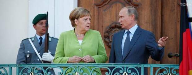 Действиями Украины обеспокоена Европа. Путин и Меркель обсудили манипуляции в Азовском море