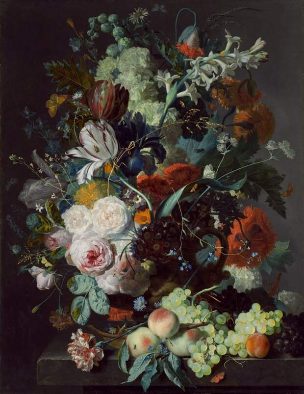 Голландские натюрморты с цветами идут отдельной строкой в истории живописи. Эти цветочные ассорти любимы и почитаемы во всем мире голландские натюрморты, живопись, искусство, красота, цветы