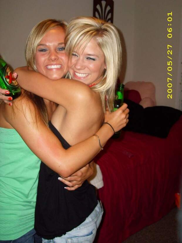 Пьянь! Девушки + алкоголь (28 фото)