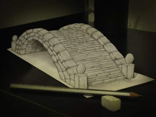 Anamorphdrawings08 Умопомрачительные 3D рисунки