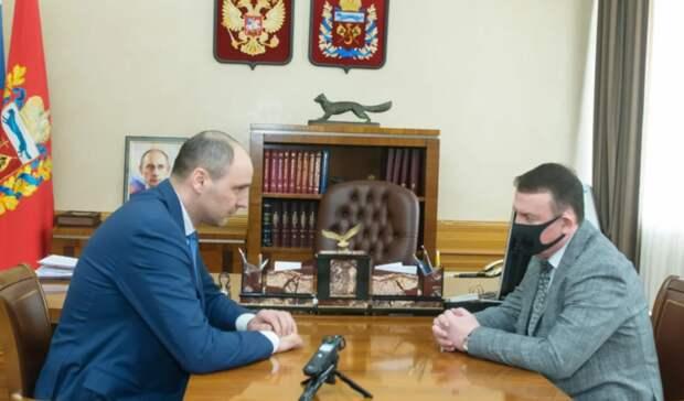 Денис Паслер попросил начальника Ростехнадзора разобраться с«Синтезспиртом»