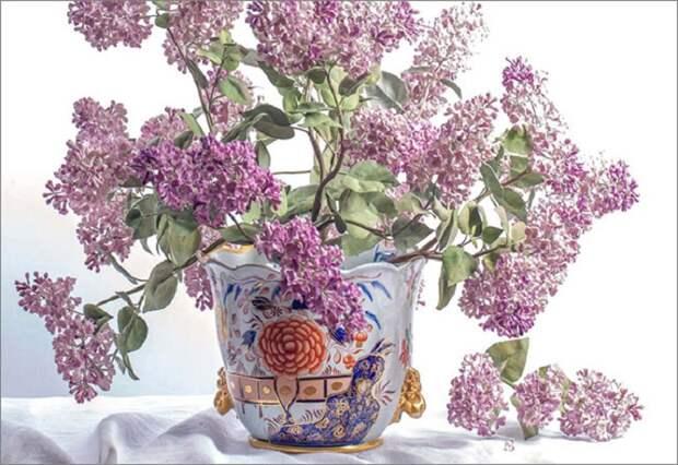 Хрупкая неувядающая красота: «Живые» фарфоровые букеты мастеров прошлых веков и наших современников