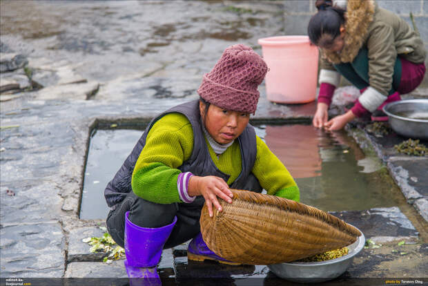 Жизнь китайских крестьян