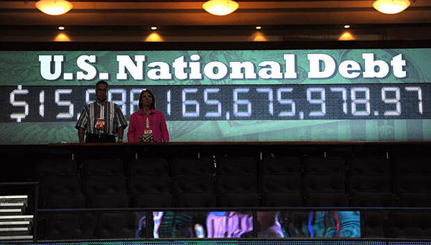 Счетчик государственного долга США. Архивное фото