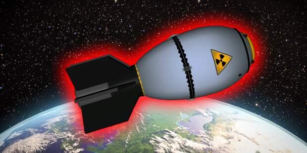 Что будет если взорвать атомную бомбу на орбите