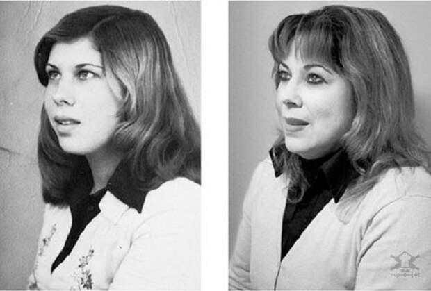 Взгляд через годы: портреты людей в юности и в зрелом возрасте
