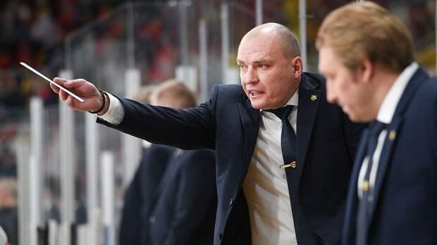 «Судья по фамилии Гей». Большой скандал в российском хоккее: тренера Разина вывел из себя незасчитанный гол: видео
