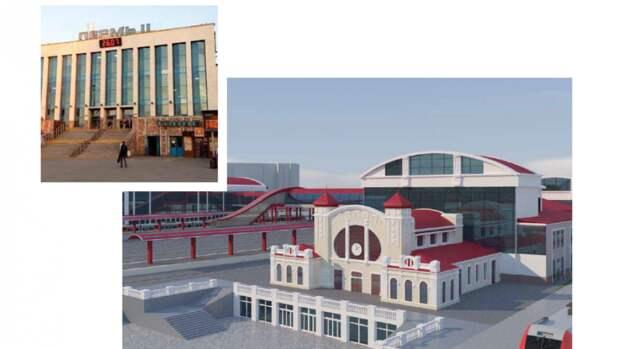 Проект  нового ж/д вокзала Прикамья представили зампреду правительства РФ