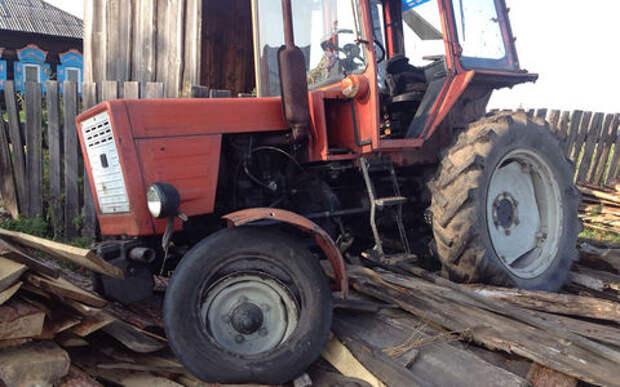 Пьяный тракторист решил устроить «Кармагеддон» в поле