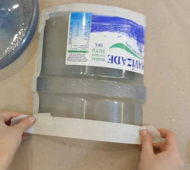 Чудесная идея перевоплощения 19-литровой бутылки