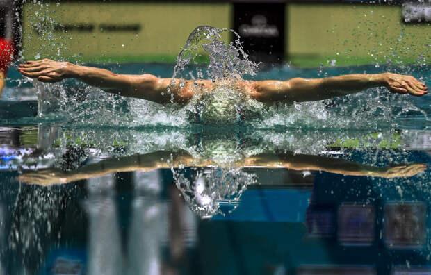 Съёмка плавания объективом Nikon AF-S NIKKOR 400mm f/2.8E FL ED VR