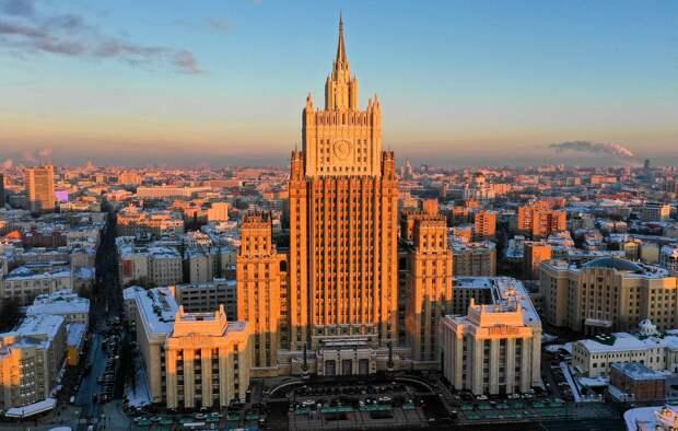 МИД потребовал от Вашингтона не вмешиваться во внутренние дела России