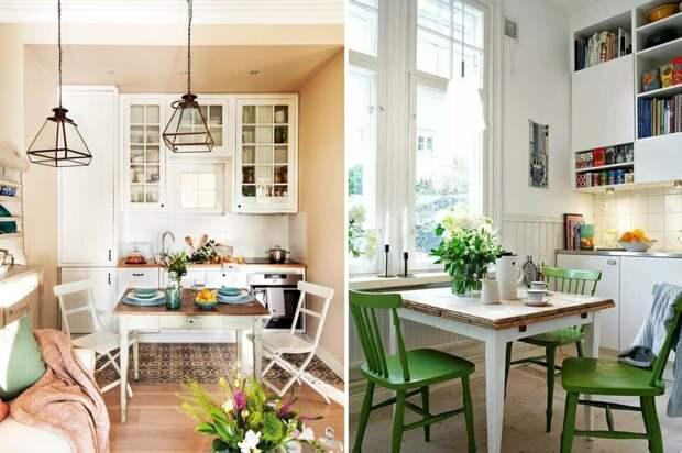 Дизайн маленькой кухни: варианты оформления кухни в хрущевке
