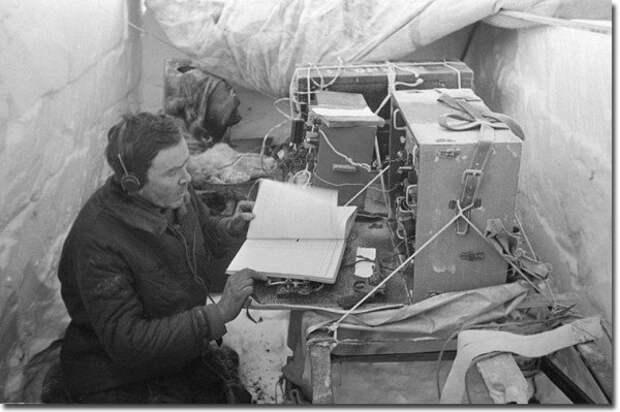 Э.Т.Кренкель Папанин, арктика, северный полюс, экспедиция