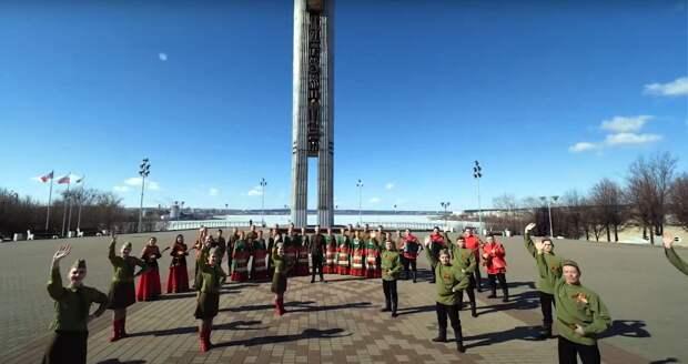 «День Победы» прозвучал на удмуртском, татарском, марийском языках