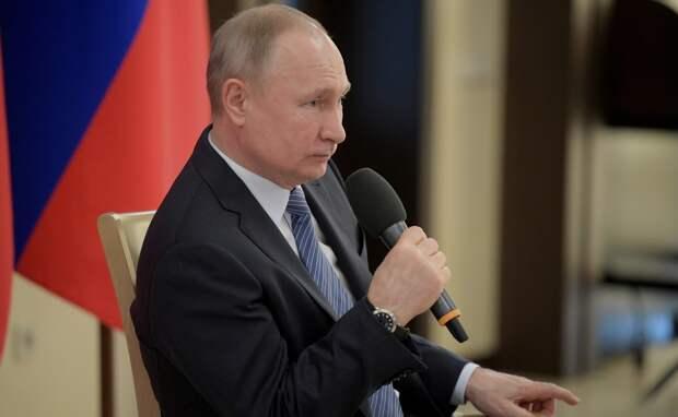 Путин рассказал о мерах федеральной поддержки предпринимательства