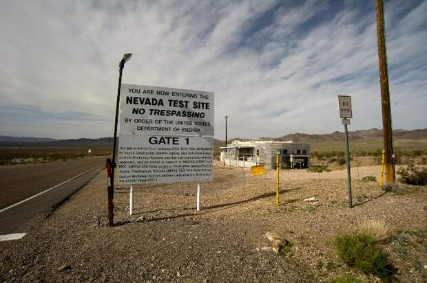 Сегодня на испытательный полигон, где располагался Дум-таун, вполне реально попасть. /Фото: wikipedia.org