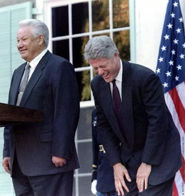 Как Борис Ельцин сдавал нашу страну США
