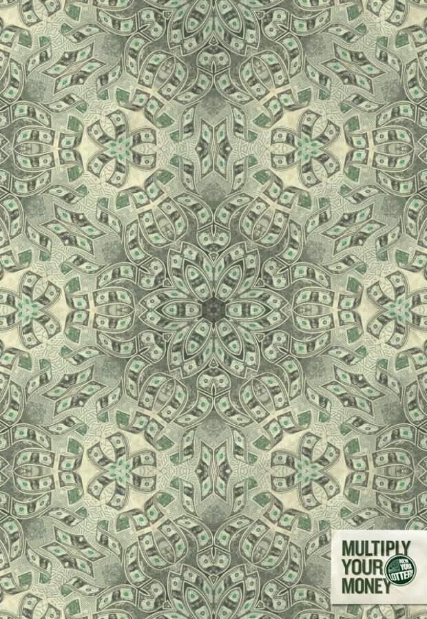 Kaleidoscope 1, New York Lottery, DDB New York, Печатная реклама