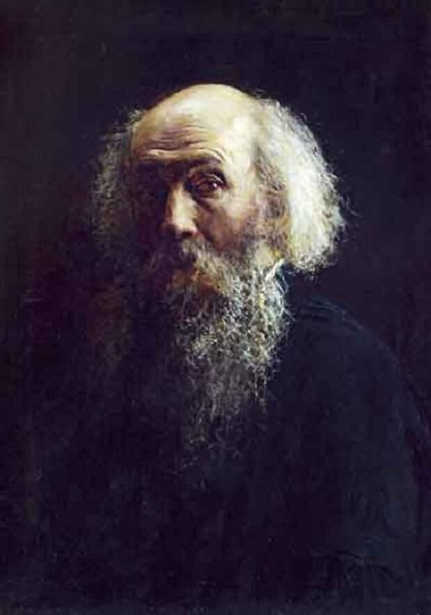 Автопортрет. Николай Николаевич Ге. (1892).