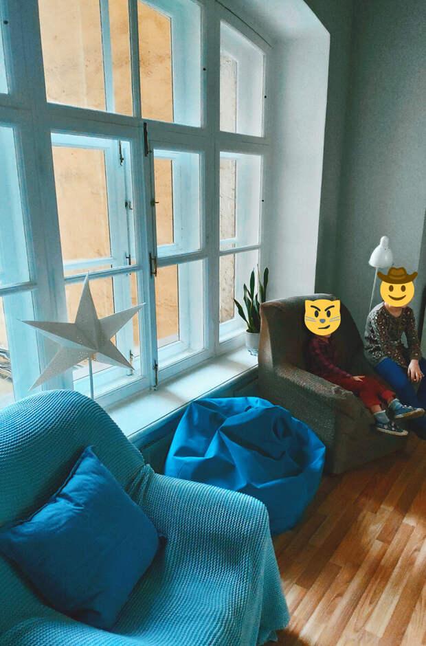 Для Дня рождения сняли целый хостел в центре города. Очень понравился интерьер комнат