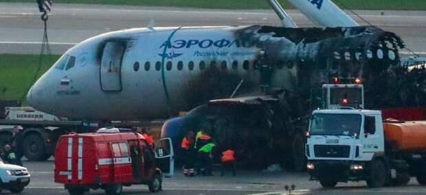 Вывод: самолет был неуправляем