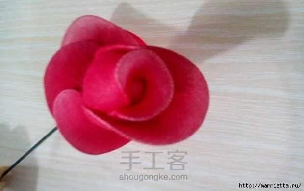 Розы из капрона. Красивые идеи и мастер-класс (77) (588x369, 84Kb)