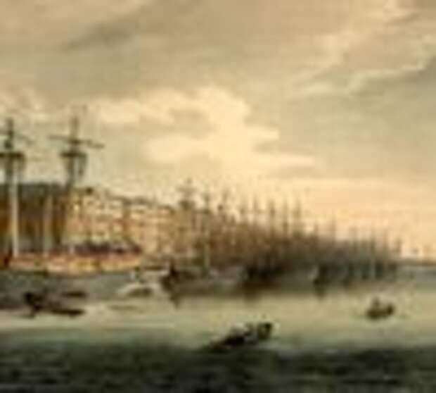 Датский флот Нового времени. В 3-х частях