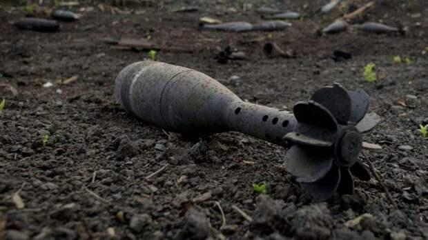 В комнату частного дома под Донецком влетел украинский снаряд