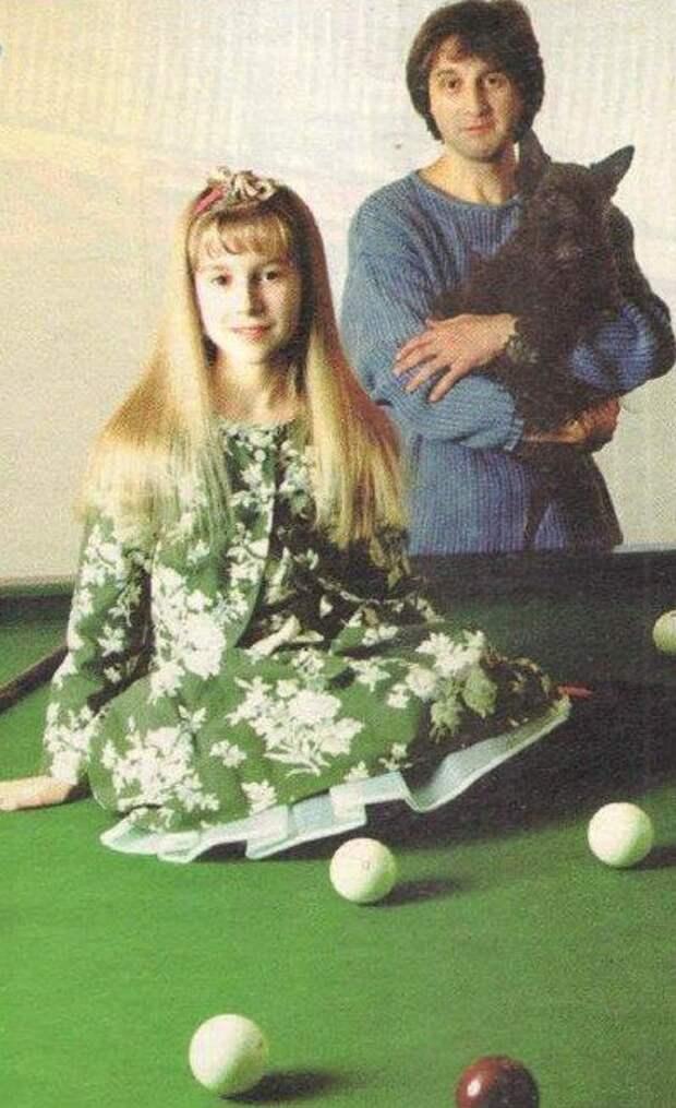 Леонид Ярмольник с дочкой Сашей