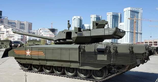 Танк Т-14 «Армата» – будущее российских танковых войск