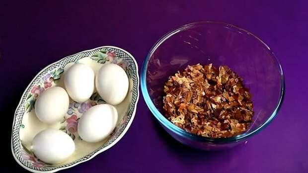 Мраморные драконьи яйца. Эффектный, но простой способ окрашивания
