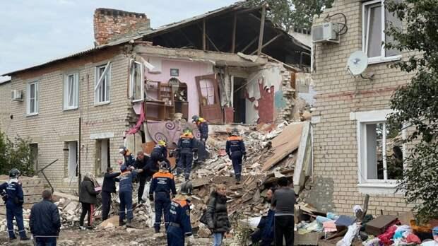 Ещё одного погибшего извлекли из-под завалов дома под Ельцом