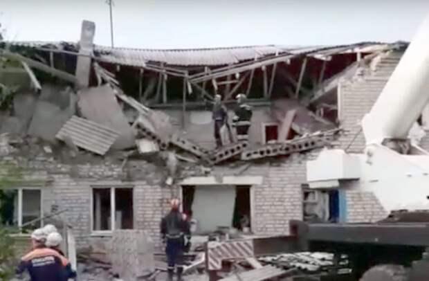 Взрыв газа в многоквартирном жилом доме в Ростовской области