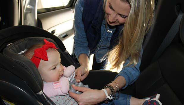 В Подольске водителей проверят на соблюдение правил перевозки детей в октябре