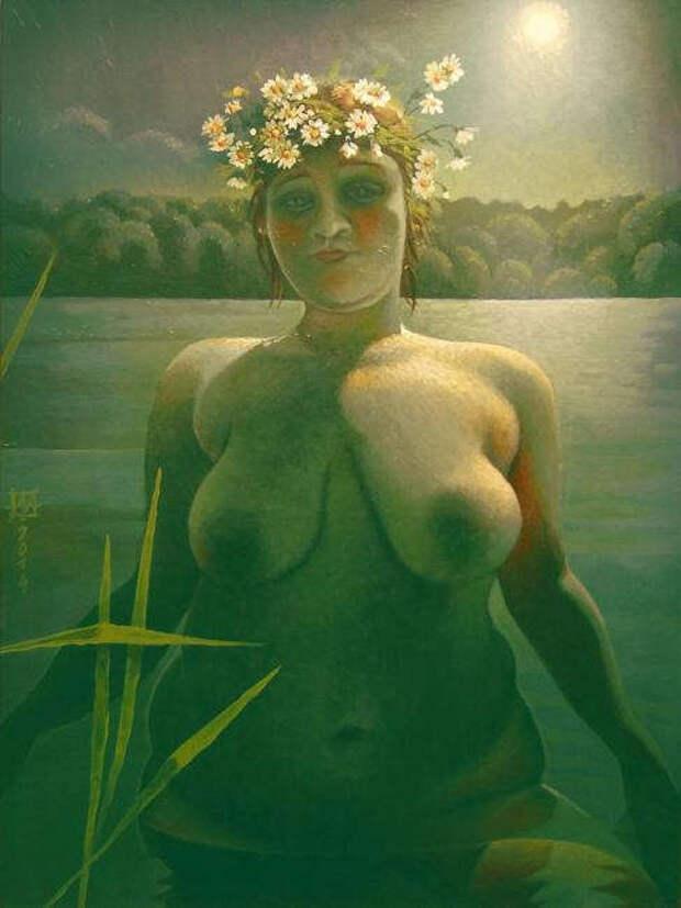 Обнаженная натура в изобразительном искусстве разных стран. Часть 110.