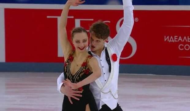 Россияне выиграли весь пьедестал на чемпионате Европы по фигурному катанию в программе спортивных пар