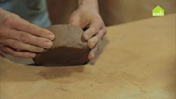 Как правильно подготовить глину для лепки