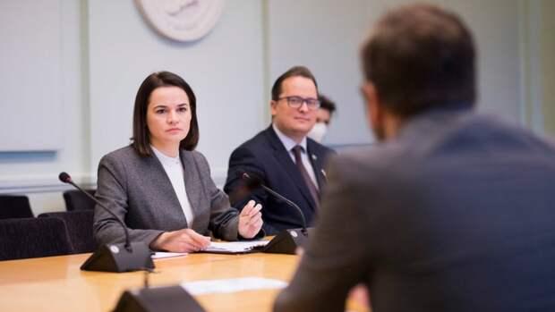 Тихановская потребовала от США «самых сильных» санкций против Белоруссии