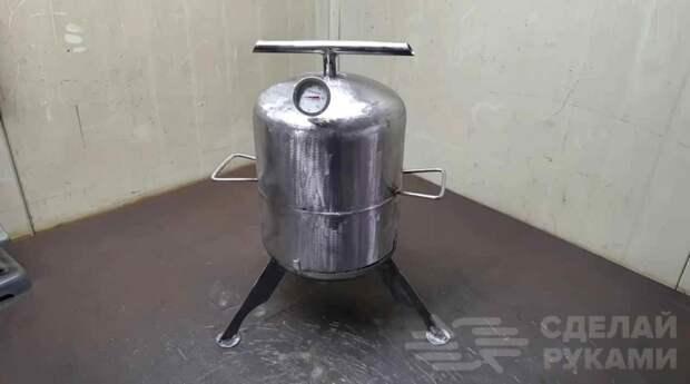 Мини духовка из баллона (для приготовления курицы и шашлыка)