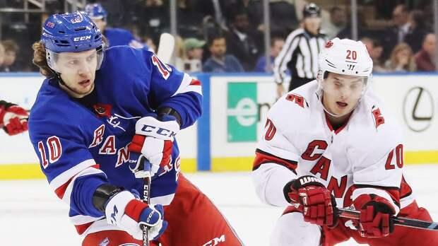 Панарин поучаствует в хоккейной перестрелке на старте плей-офф. Прогноз на 1-й матч серии «Каролина» — «Рейнджерс»